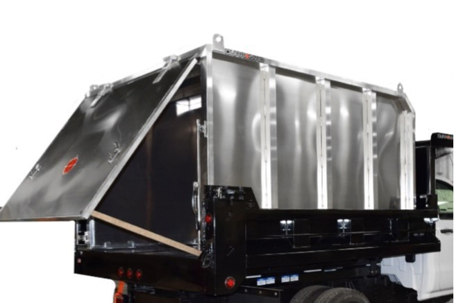 """Truck Beds For Sale >> 78"""" W x 106"""" H Universal Chipper/Leaf Box with Full Size ..."""