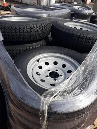 ST205/75D15LRC Tire & Wheel - 5 on 4-1/2