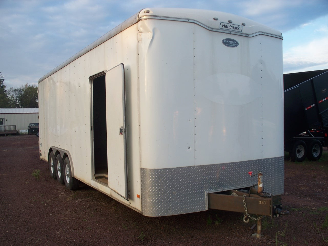 USED 2014 Haulmark 26' Enclosed Trailer w/ Barn Doors