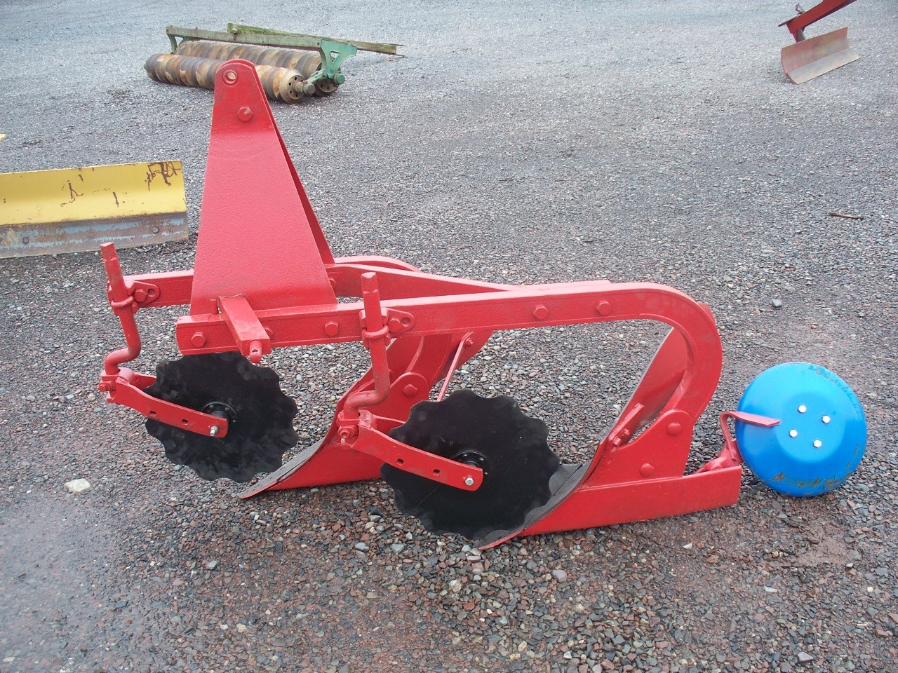 Used 2 Bottom Plow w/ Coulters