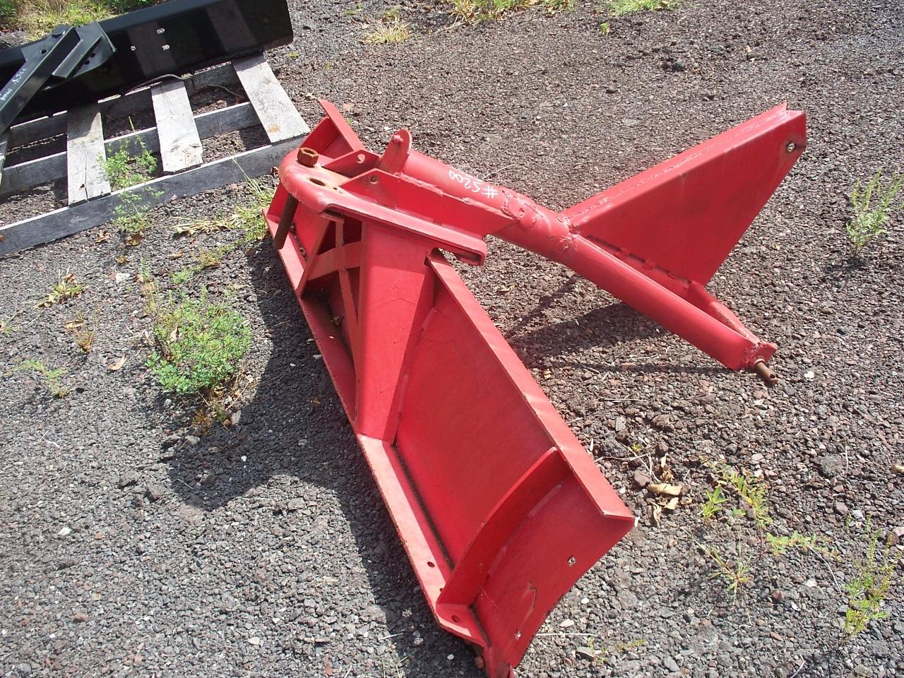 Used 6' Red Grader Blade