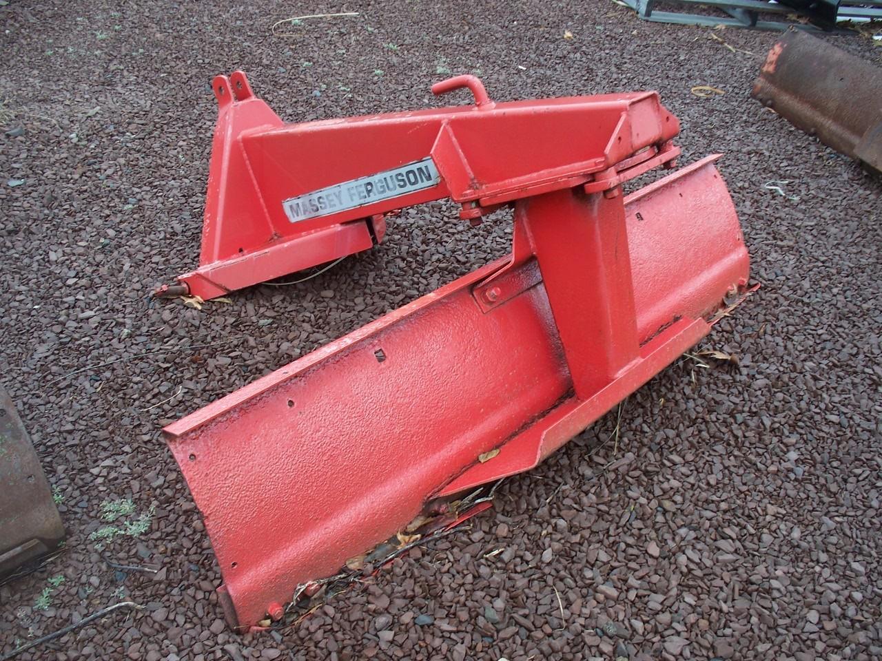6' MF Red Grader Blade