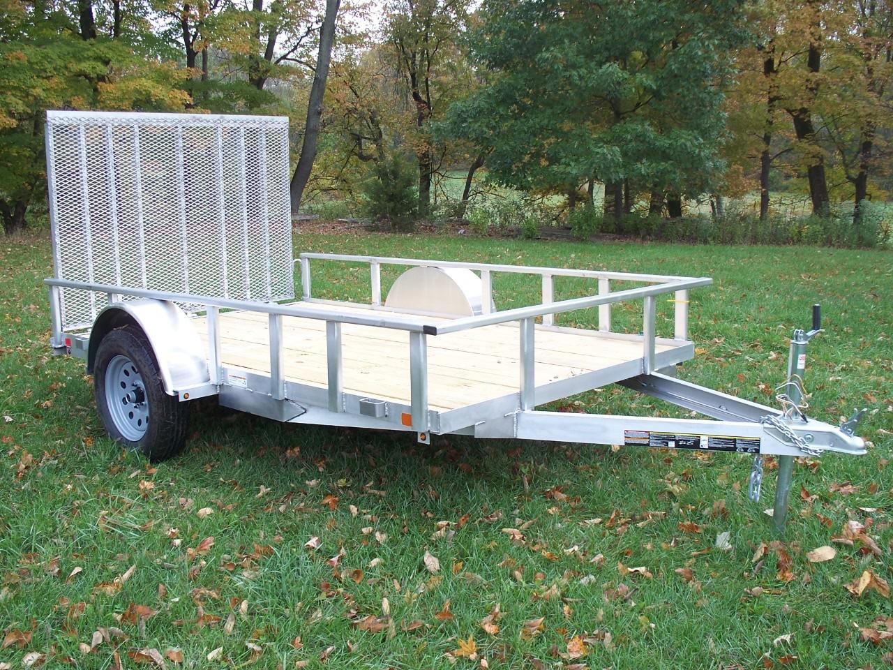6' x 10' Aluminum Trailer 2990 GVW