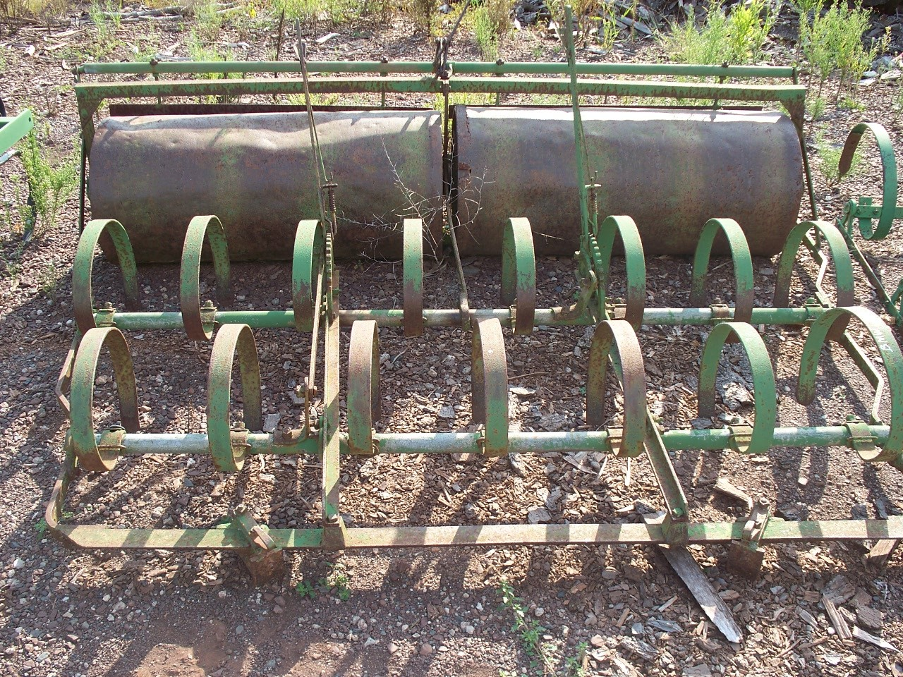 USED 7' Roller / Spring Tooth Harrow - 1 IN STOCK - $275