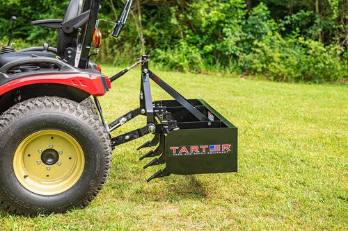 4' Tarter Box Blade - 100 Series - Subcompact Model