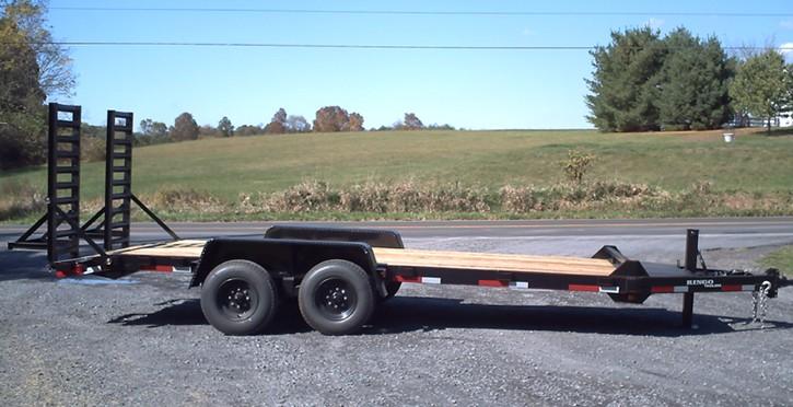 7 x 18 construction trailer C18-12