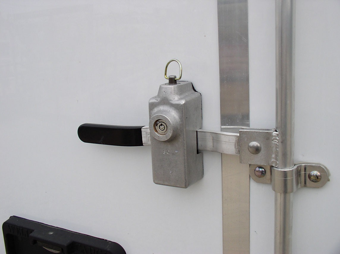 Cargo Trailer Accessories >> Cargo Trailer Door Lock Locks Parts And Accessories