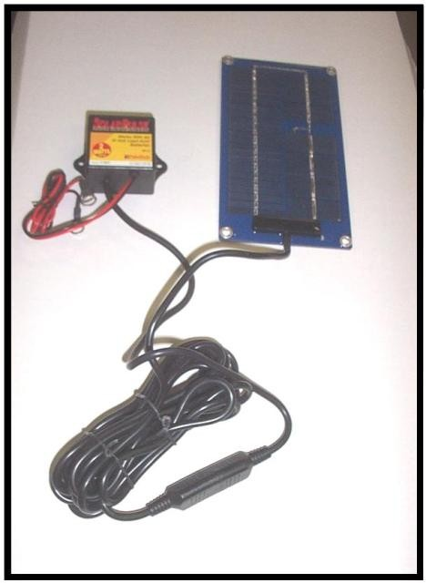 Solar Charging System For Dump Trailers
