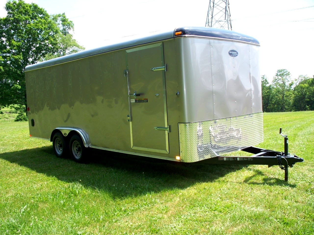 8 x 24 enclosed trailer