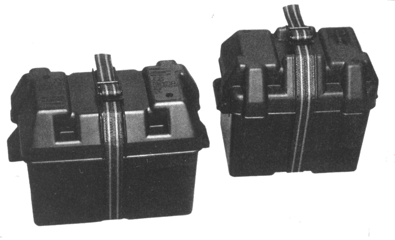 #24 Battery Group Battery Boxes