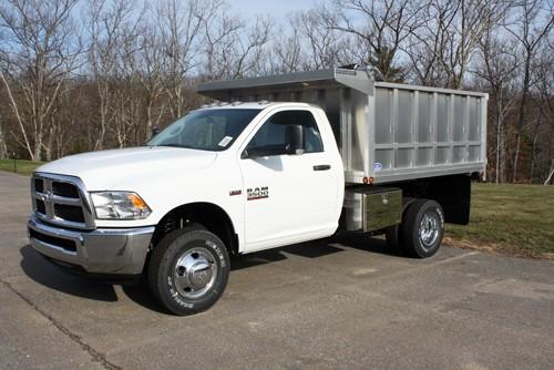 "96"" x 9.5' - Aluminum Smooth Side Landscape Truck Bed w/ 48"" Sides"