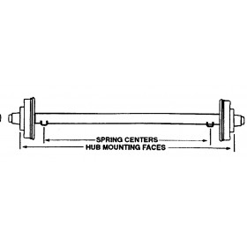 Axle For D508HDE
