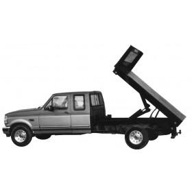 "9' x 85"" Dumping Truck Bed"