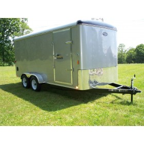 RTE6X12R-7 - 6' x 12' Enclosed Cargo Trailer with Rear Ramp Door 7,000 GVW *Temporarily Unavailable!*