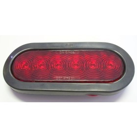 Red Oval Stop / Tail / Turn Light