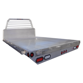 "81"" x 84"" Universal Short Bed Aluminum Truck Bed with Loose Long Sills"