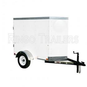 RTE4X6VB - 4' x 6' Enclosed Cargo Trailer V-Nose 2,000 GVW *Temporarily Unavailable*