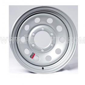 """ST175-80-D13LRC-W-5L 13"""" Silver MOD 5 Lug Wheel"""