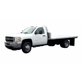 "92"" x 144"" Ford/Dodge/GMC DRW Cab Chasis Standard Series Aluminum Bed with 34"" Long Sills"