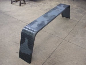 "10"" Steel Double Axle Fenders - Unpainted"
