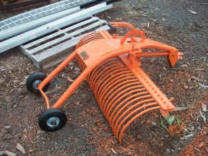 USED Orange 4' York Rake