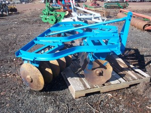 Used 6' Blue Ford Disk Harrow