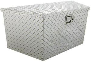 aluminum tool box for trailer tongue