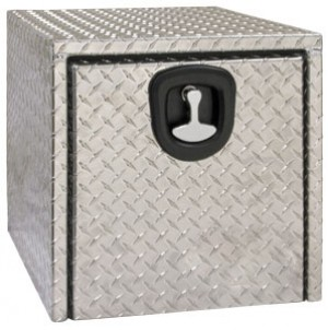 "18"" x 18"" x 24"" Aluminum Underbody Tool Box"