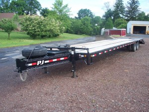 NEW 40' PJ Bumper Pull Trailer