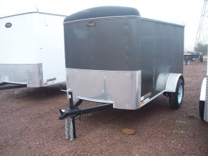 RTE5X10R - 5' x 10' Enclosed Cargo Trailer 2990 GVW
