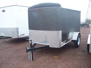 RTE5X10R - 5' x 10' Enclosed Cargo Trailer 2990 GVW