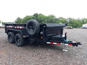 NEW 6' x 12' PJ Dump Trailer Model D3