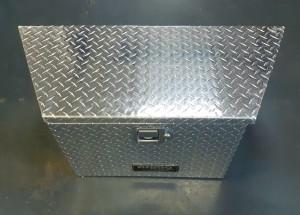 """Aluminum Trailer Tongue Tool Box - 34"""""""