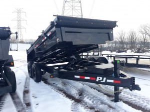 NEW PJ 6' x 14' Dump Trailer