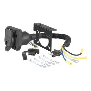 2 in 1 electrical tow harness