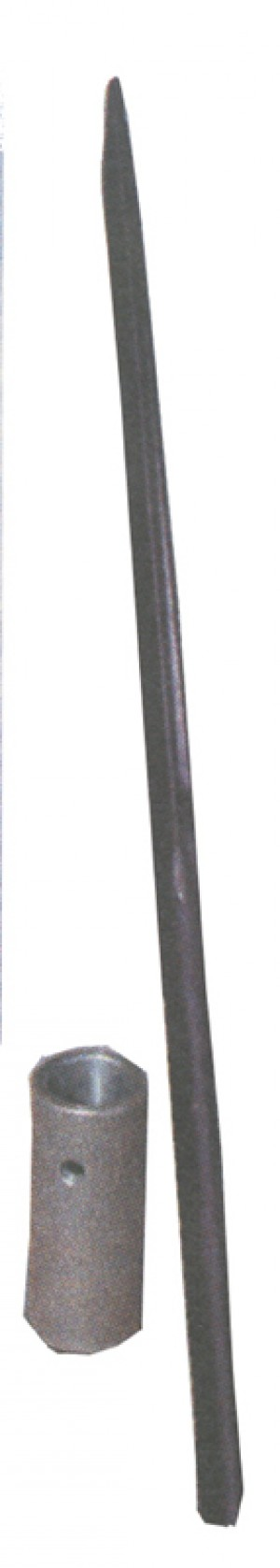 """Weld On Sleeve For 47-1/2"""" Bale Spear"""