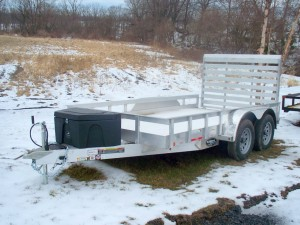 trailer shown with optional tool box!