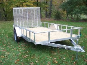 7x12AGW - 7' x 12' Aluminum Trailer - 2990 GVW
