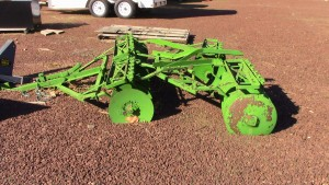 Used 8' Green Disk Harrow - Pull Type