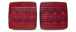Tail Light Left Side with License Light