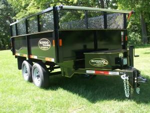 D610-10  - 6' x 10' dump trailer
