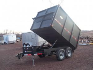 D710DX - 7' x 10' Dump Trailer 14,000 GVW