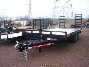DO818-14 - Ringo 8' x 18' Deck Over Trailer 14,000 GVW with wood floor