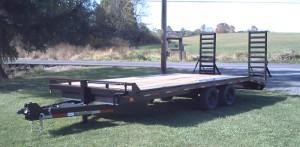 8 x 24 deck over trailer