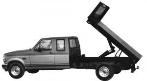 dump truck bed
