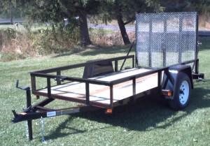 5.5 x 10 utility trailer