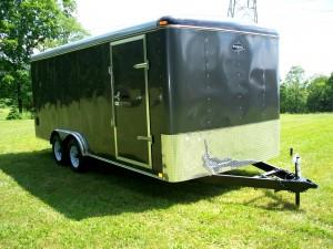 8 x 16 enclosed trailer
