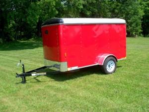 5 x 10 enclosed trailer