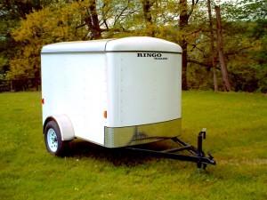 5 x 8 enclosed trailer