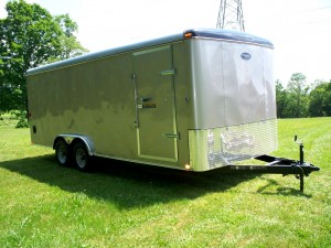 8 x 18 enclosed trailer